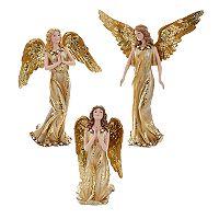 Kurt Adler Angel Table Decor 3-piece Set