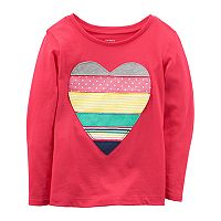 Toddler Girl Carter's Heart Graphi Tee