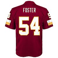 Boys 8-20 Washington Redskins Mason Foster Mid-Tier Jersey