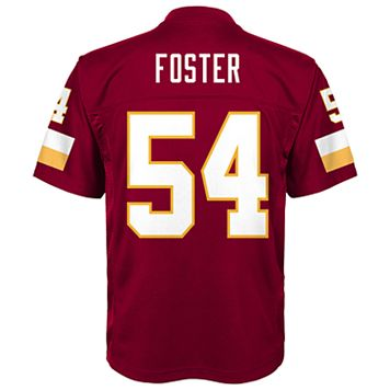 Boys 8-20 Washington Redskins Mason Foster Mid-Tier Jersey