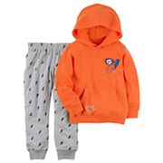 Toddler Boy Carter's 2 pc Lightning Bolt Hoodie & Jogger Pants Set