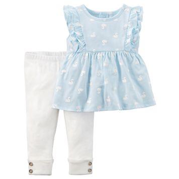 Baby Girl Carter's 2-pc. Top & Leggings Set