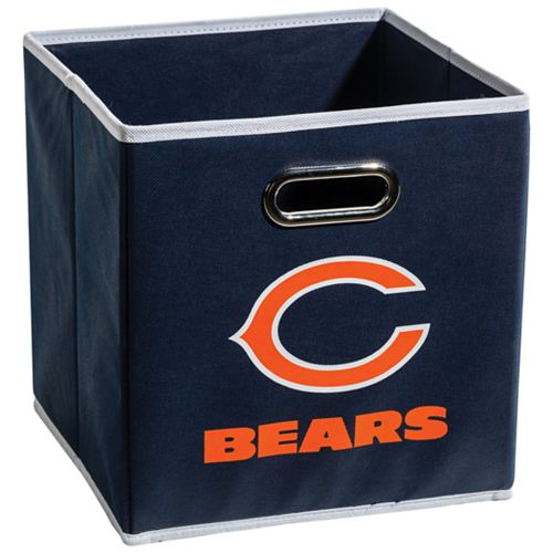 Franklin Sports Chicago Bears Collapsible Storage Bin