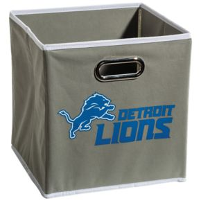 Franklin Sports Detroit Lions Collapsible Storage Bin