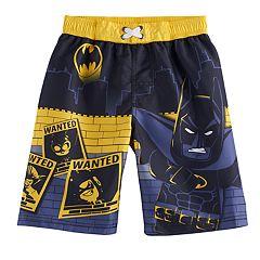 Boys 4-7 DC Comics Batman UPF 50 Swim Trunks