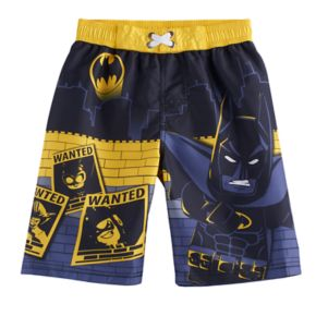 Boys 4-7 DC Comics Batman UPF 50 Swim Trunks