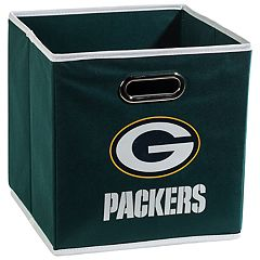 Franklin Sports Green Bay Packers Collapsible Storage Bin