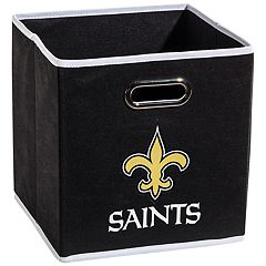 Franklin Sports New Orleans Saints Collapsible Storage Bin