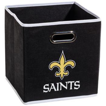 Franklin Sports New Orleans Saints Collapsible Storage Bin