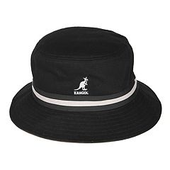 eff7f87bbddf5 Men s Kangol Lahinch Striped Bucket Hat. White Navy Gray Black