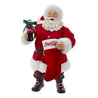 Coca-Cola Santa & Stocking Christmas Table Decor by Kurt Adler