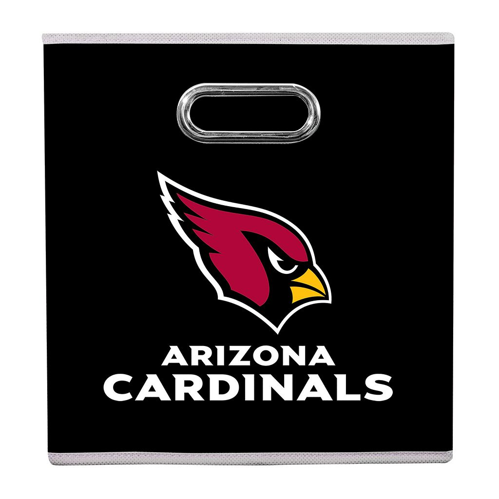 Franklin Sports Arizona Cardinals Collapsible Storage Bin