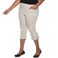 Plus Size Briggs Pull-On Capris