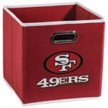 Franklin Sports San Francisco 49ers Collapsible Storage Bin