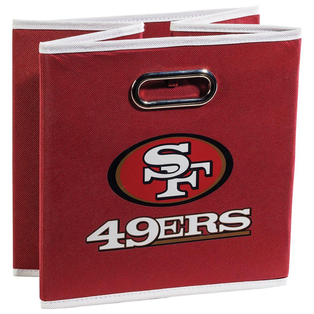 Franklin Sports San Francisco 49ers Collapsible Storage Bin