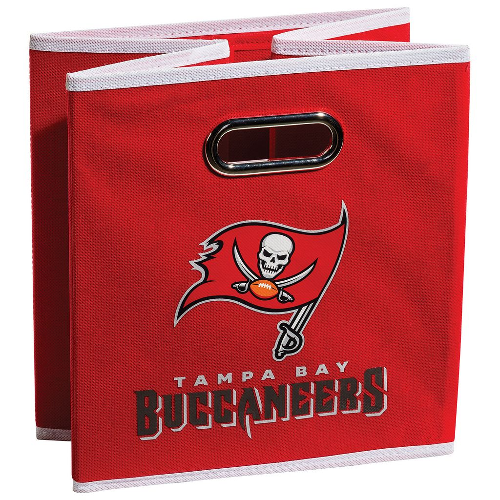 Franklin Sports Tampa Bay Buccaneers Collapsible Storage Bin