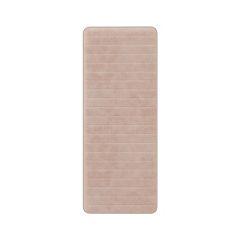 Portsmouth Home Memory Foam Striped Long Bath Mat