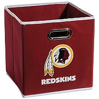 Franklin Sports Washington Redskins Collapsible Storage Bin