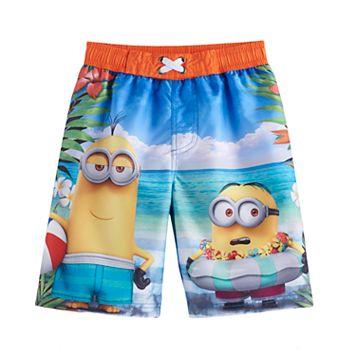 Boys 4-7 Despicable Me Minions UPF 50 Swim Trunks