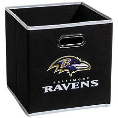 Franklin Sports Baltimore Ravens Collapsible Storage Bin