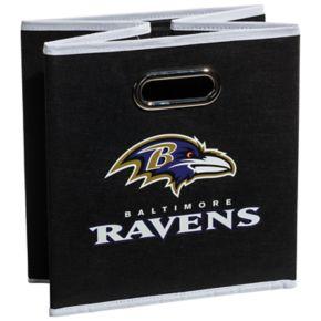 Franklin Sports Baltimore Ravens Collapsible Storage Bin