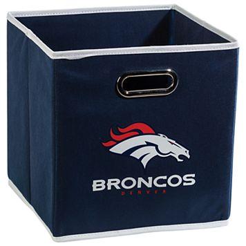 Franklin Sports Denver Broncos Collapsible Storage Bin