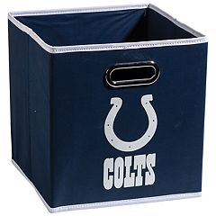 Franklin Sports Indianapolis Colts Collapsible Storage Bin