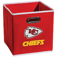 Franklin Sports Kansas City Chiefs Collapsible Storage Bin