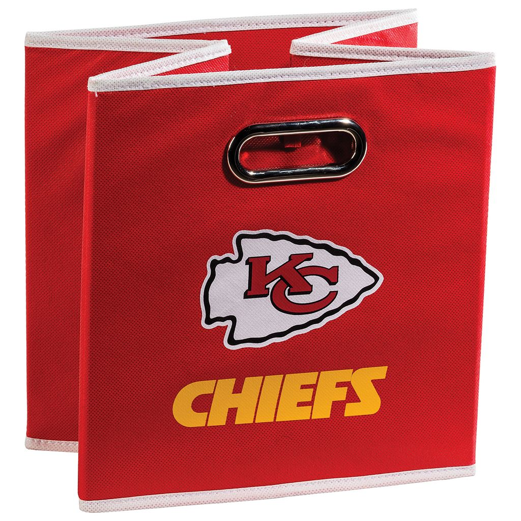 Franklin Sports Kansas City Chiefs Collapsible Storage Bin