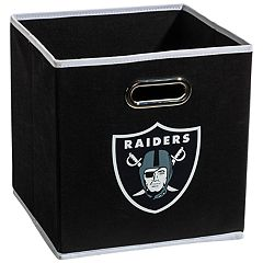 Franklin Sports Oakland Raiders Collapsible Storage Bin