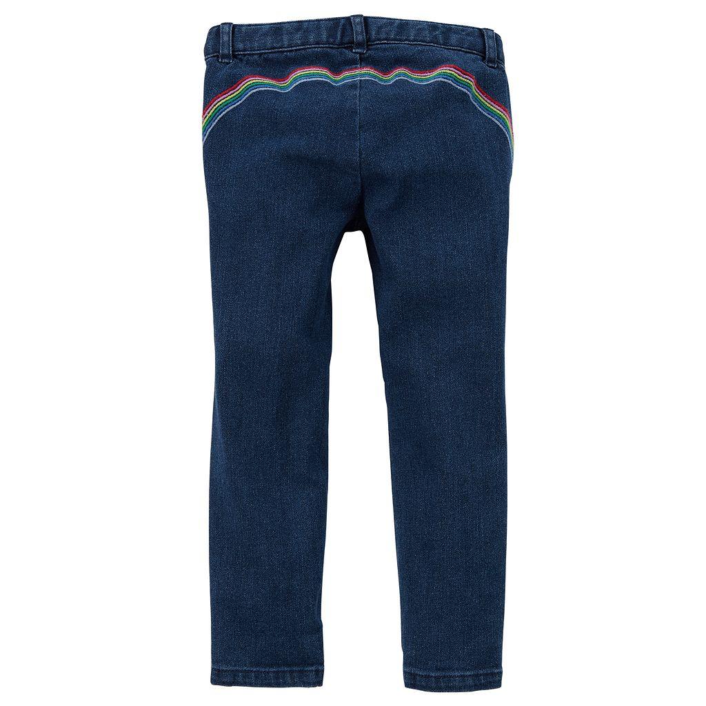 Toddler Girl Carter's Rainbow Jeans