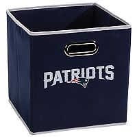Franklin Sports New England Patriots Collapsible Storage Bin