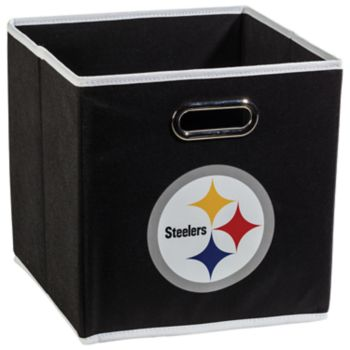 Franklin Sports Pittsburgh Steelers Collapsible Storage Bin