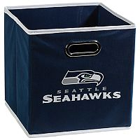 Franklin Sports Seattle Seahawks Collapsible Storage Bin