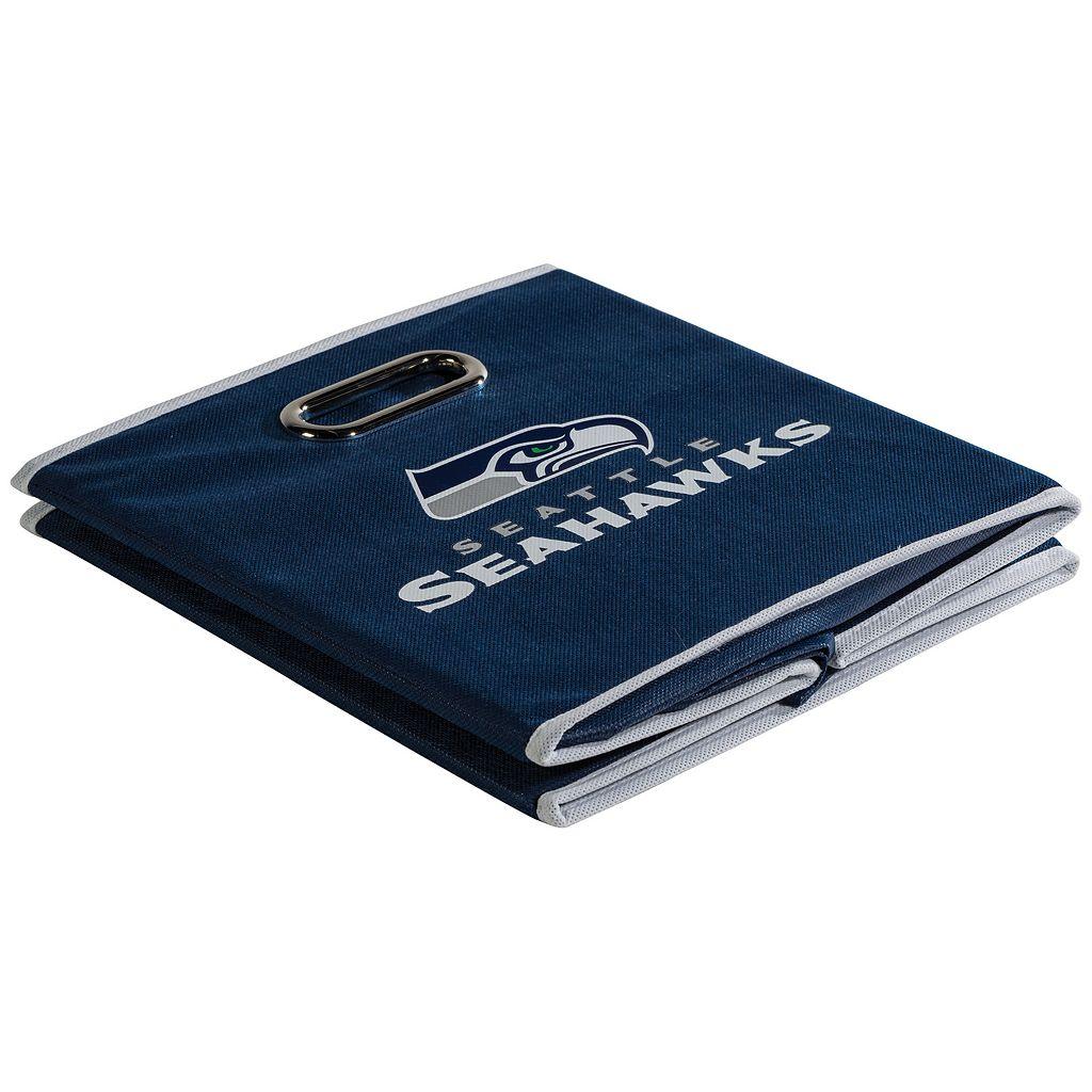 Franklin Sports Seattle Seahawks Collapsible Storage Bin