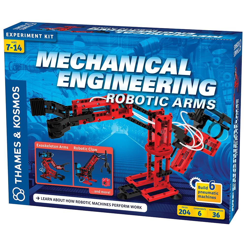 Thames & Kosmos Mechanical Engineering: Robotic Arms Experiment Kit