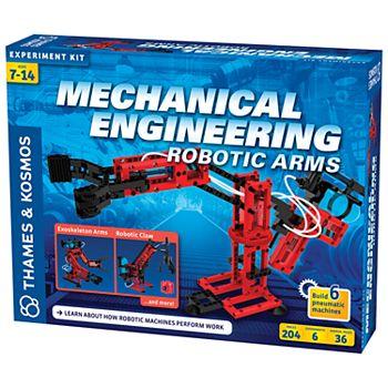 Thames & Kosmos Mechanical Engineering: Robotic Arms Experiment Kit