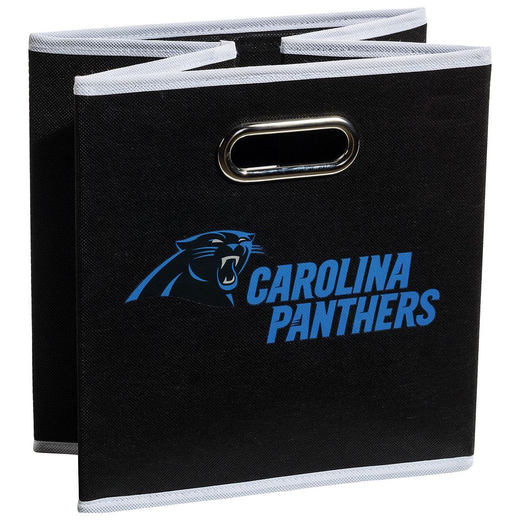 Franklin Sports Carolina Panthers Collapsible Storage Bin
