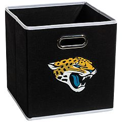 Franklin Sports Jacksonville Jaguars Collapsible Storage Bin