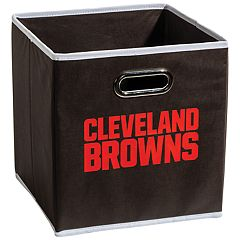Franklin Sports Cleveland Browns Collapsible Storage Bin