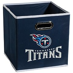 Franklin Sports Tennessee Titans Collapsible Storage Bin