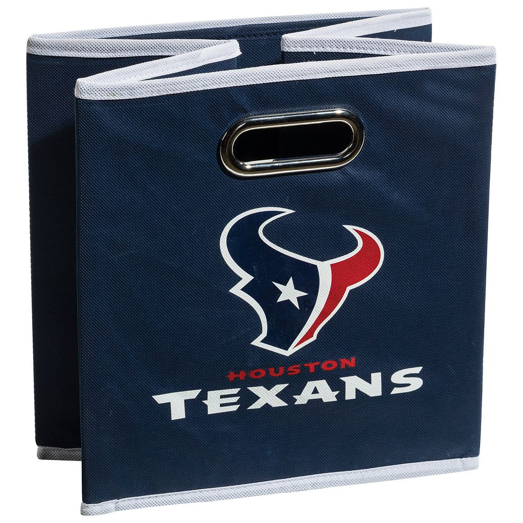 Franklin Sports Houston Texans Collapsible Storage Bin