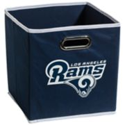 Franklin Sports Los Angeles Rams Collapsible Storage Bin