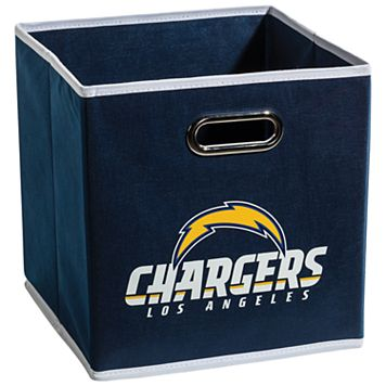 Franklin Sports Los Angeles Chargers Collapsible Storage Bin