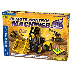 Thames & Kosmos Remote Control Machines: Construction Vehicles Experiment Kit