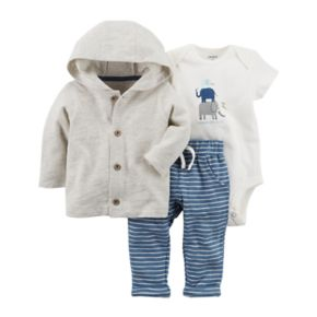 Baby Boy Carter's 3-pc Jacket Set