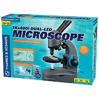 Thames & Kosmos TKx400i Dual-LED Microscope Experiment Kit
