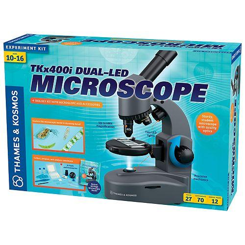 Thames & Kosmos TKx400i Dual-LED Microscope Experiment Kit