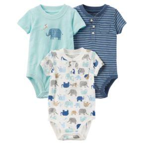 Baby Boy Carter's 3-pk Short Sleeve Bodysuits