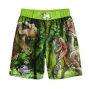 Boys 4-7 Jurassic Park Swimming Trunks